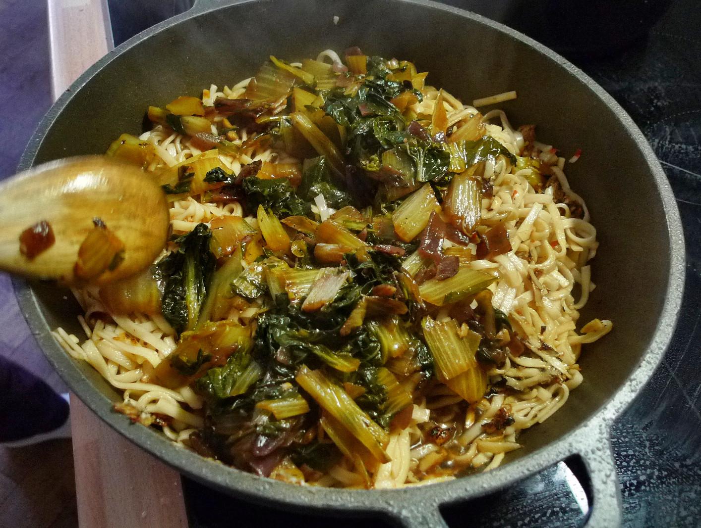 Chinesische Nudeln mit Pak Choi (11)
