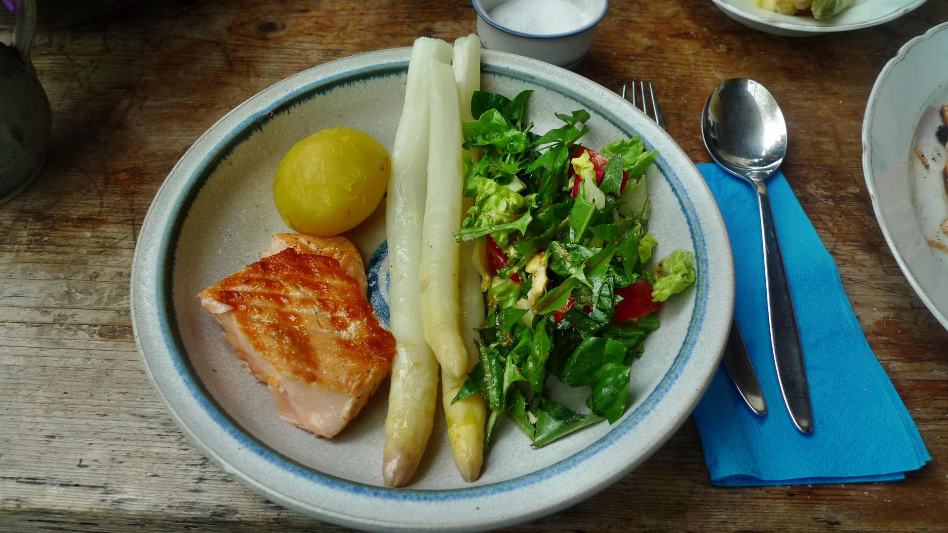 Lachs,Spargel,Salat,Kartoffeln - 25.4.15   (12)