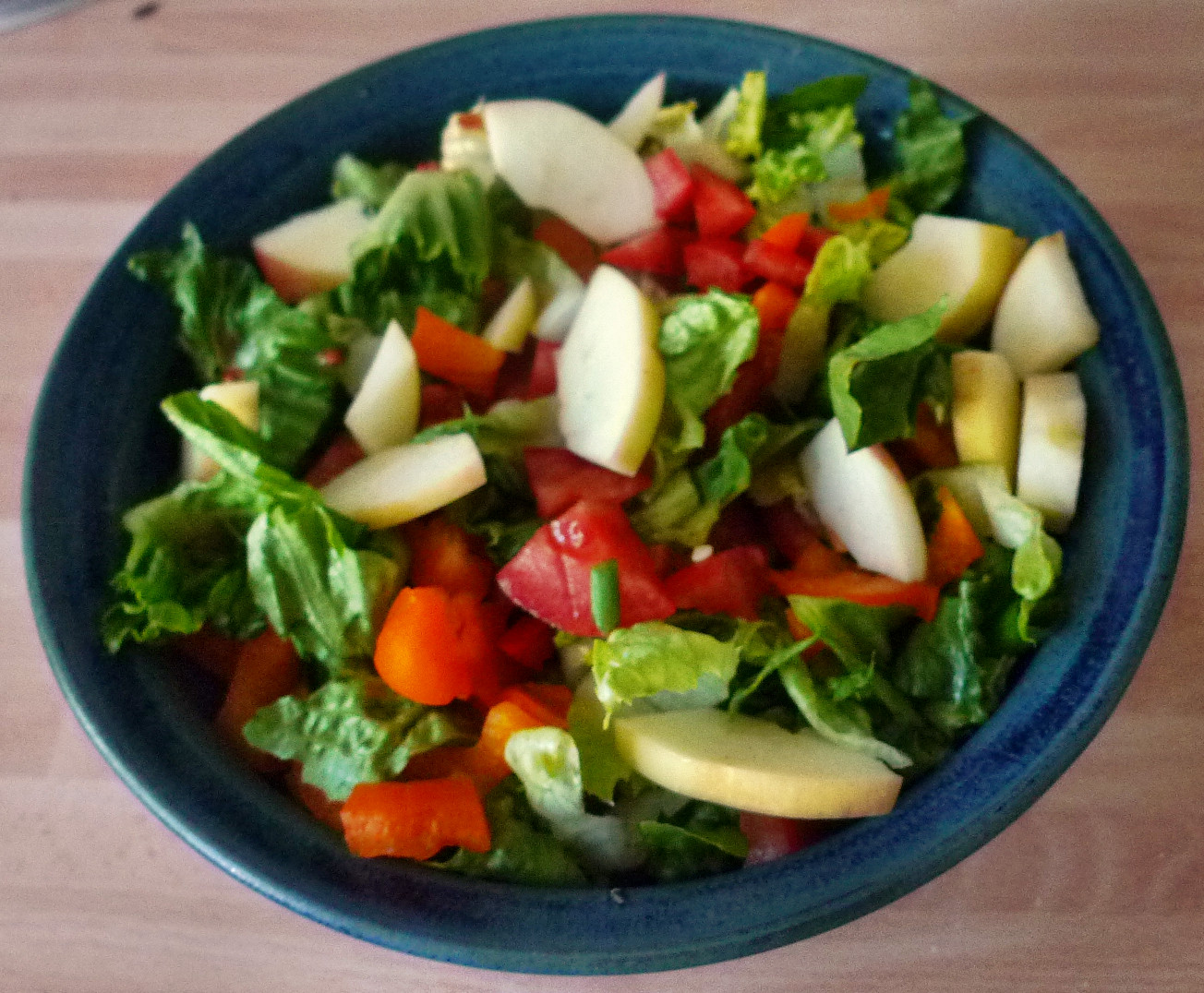 Marinierter Hering,Kartoffeln,Salat, - 14.4.15   (4)