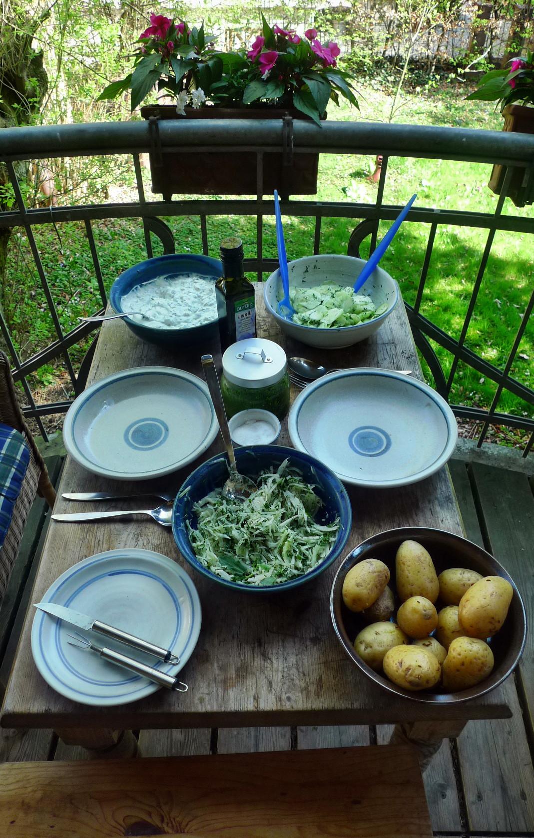 Quark,Kartoffeln,Salate - 24.4.15   (3)