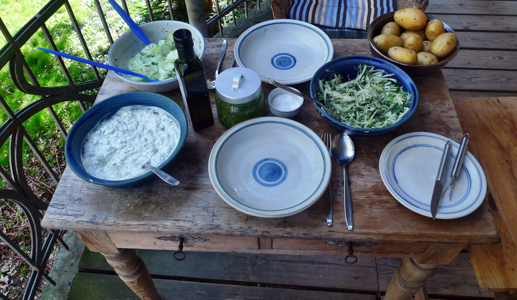 Quark,Kartoffeln,Salate - 24.4.15   (5)