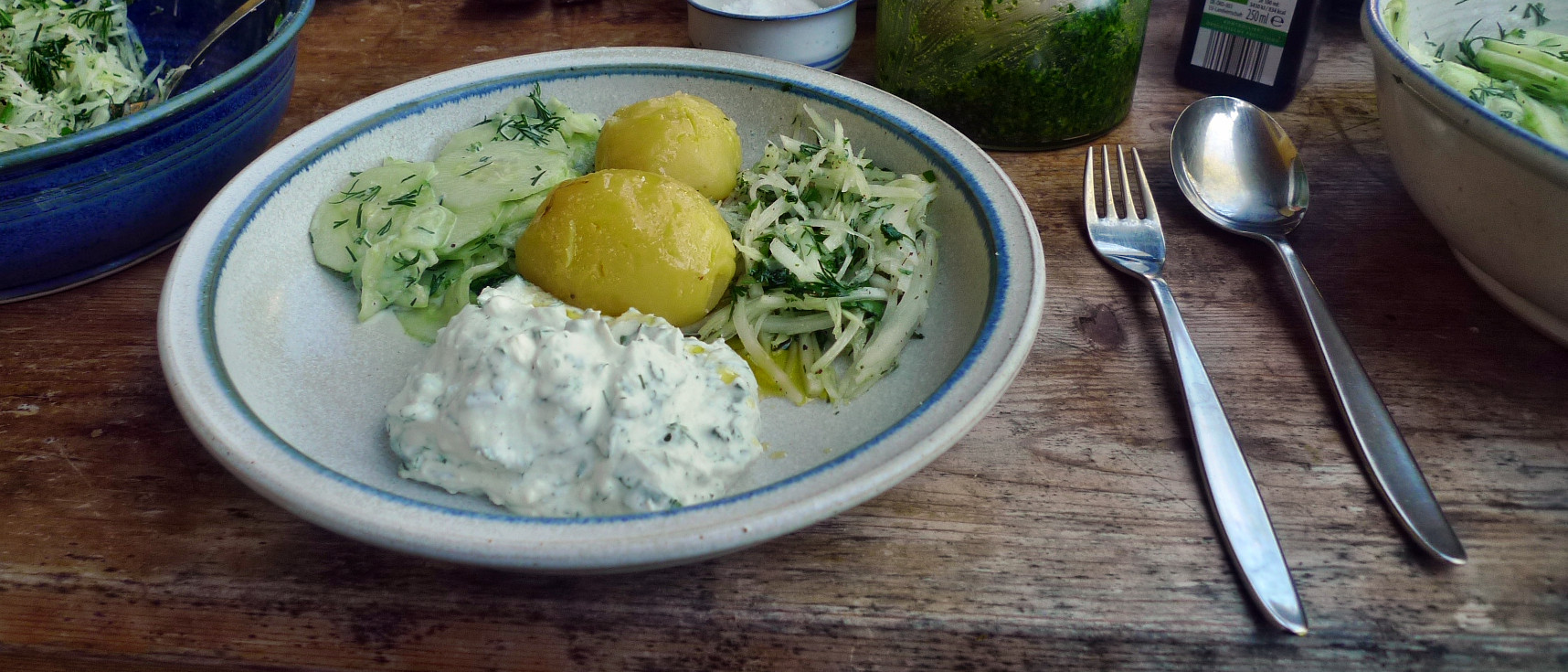 Quark,Kartoffeln,Salate - 24.4.15   (6)