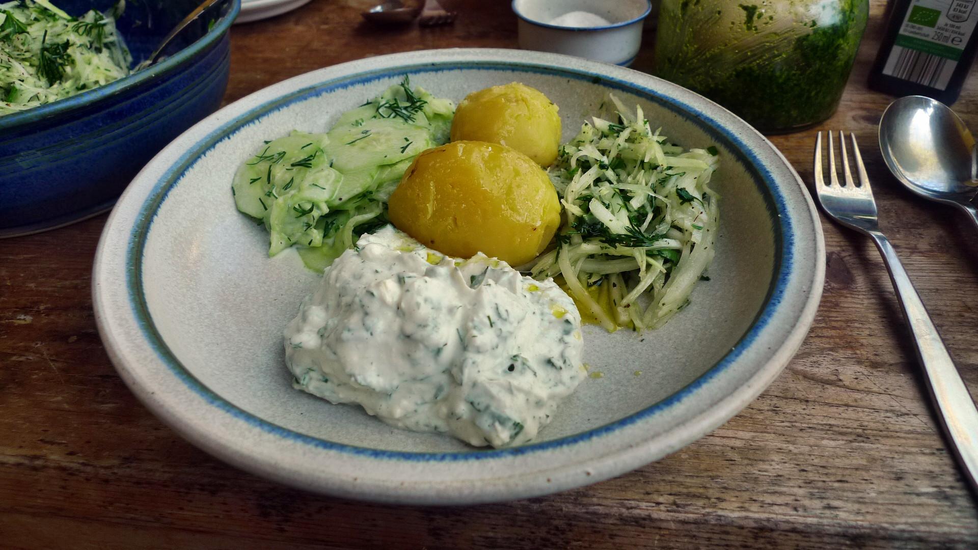 Quark,Kartoffeln,Salate - 24.4.15   (7)