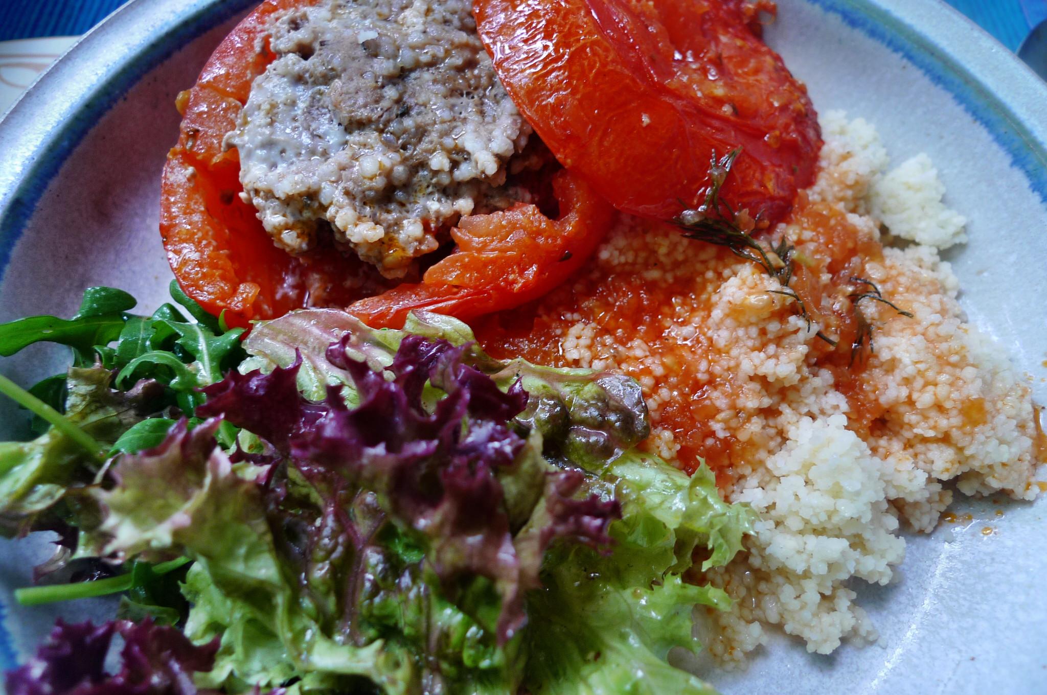 Fefüllte Tomaten,Couscous - 22.5.15   (11)