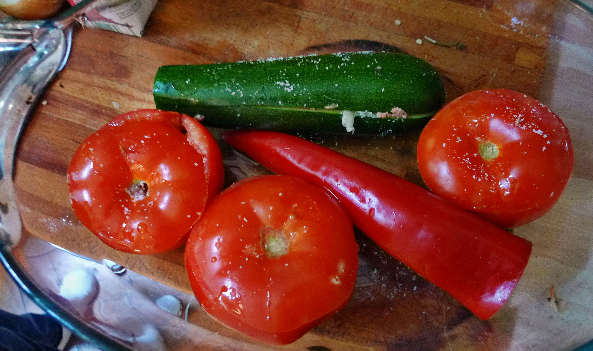 Fefüllte Tomaten,Couscous - 22.5.15   (6)