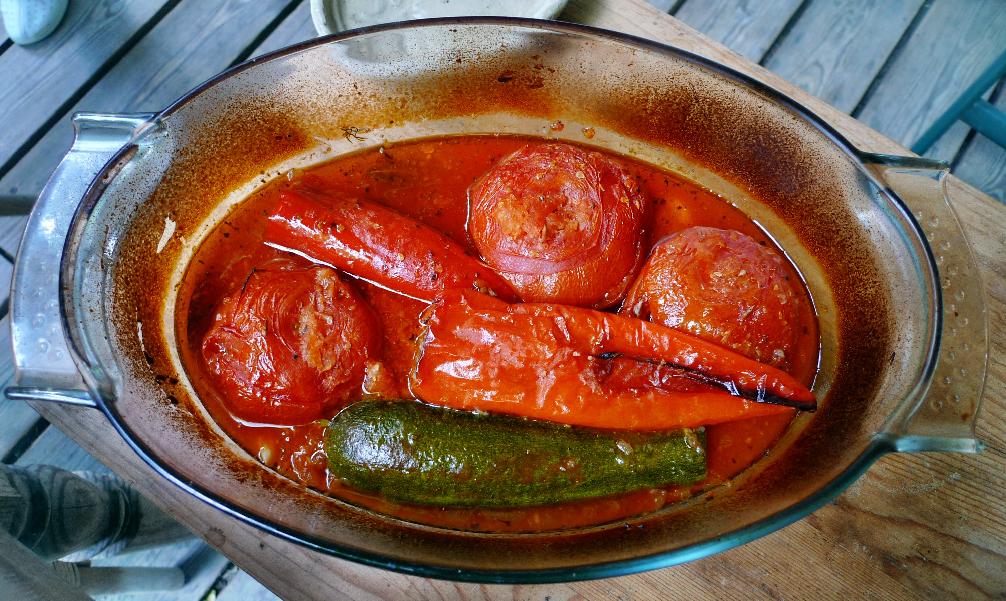 Fefüllte Tomaten,Couscous - 22.5.15   (8)