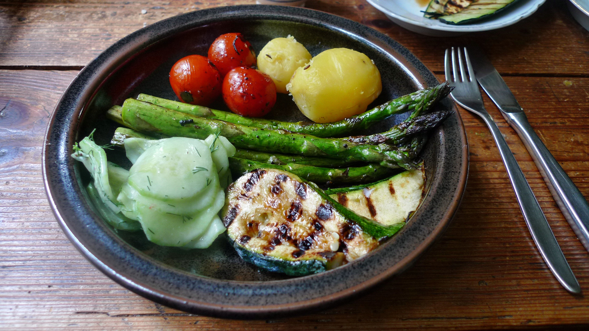 Spargel,Zucchini,Tomate,Gurkensalat,Kartoffeln -3.5.15   (12)