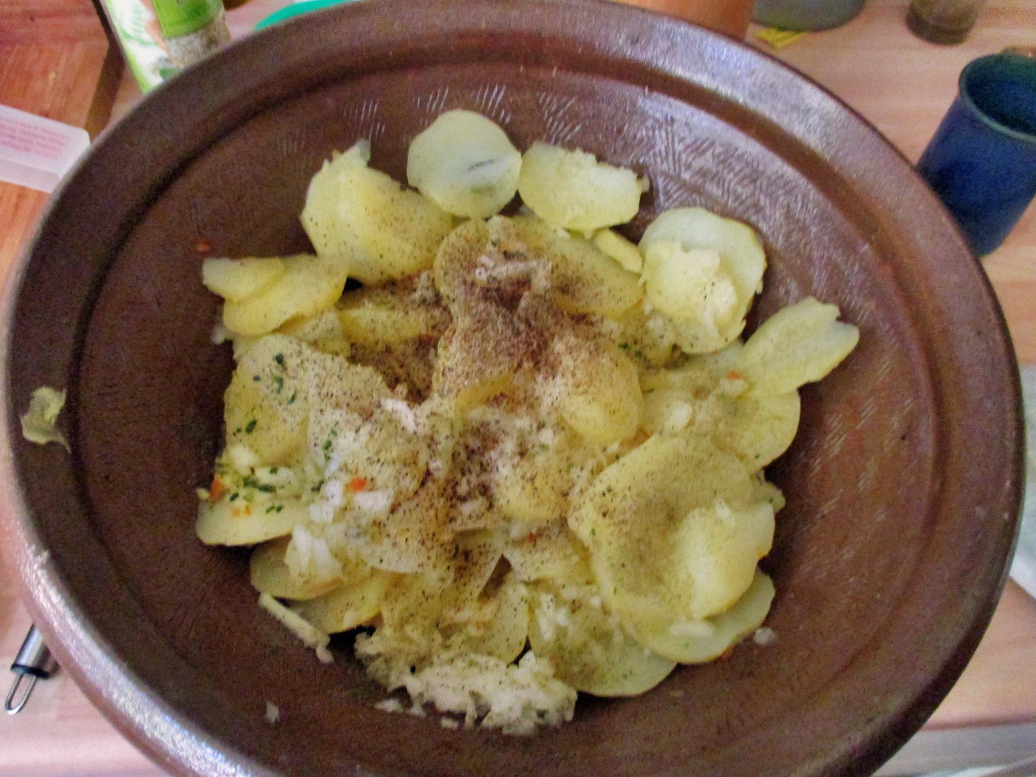 Kartoffelsalat,Ei,Gurkensalat - 25.7.15   (3)