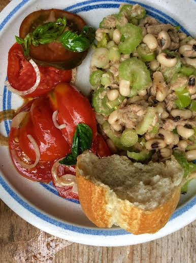 Bohnen,Selleriesalat - 17.8.15   (10)