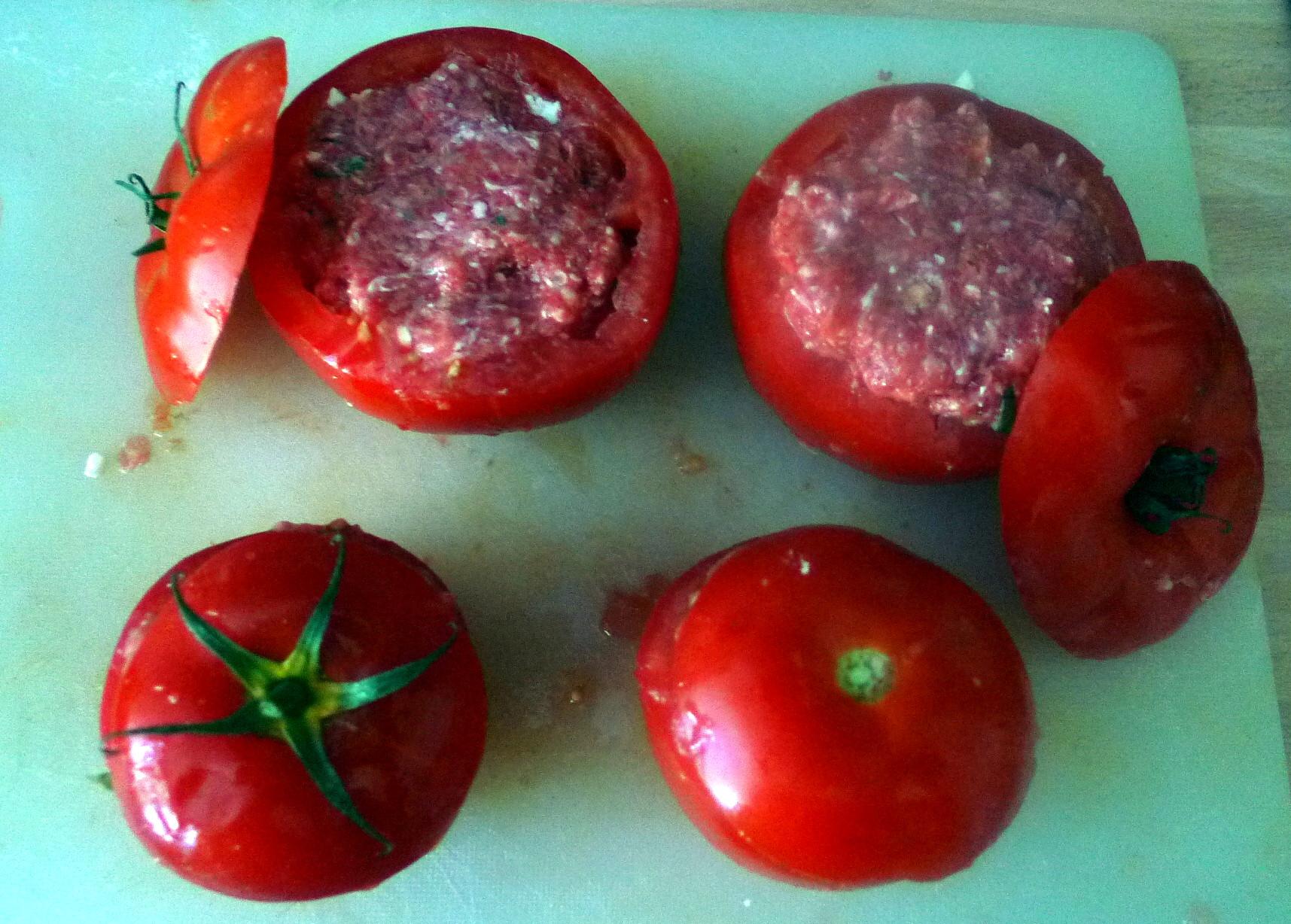 Gefüllte Tomaten - 12.8.15   (3)