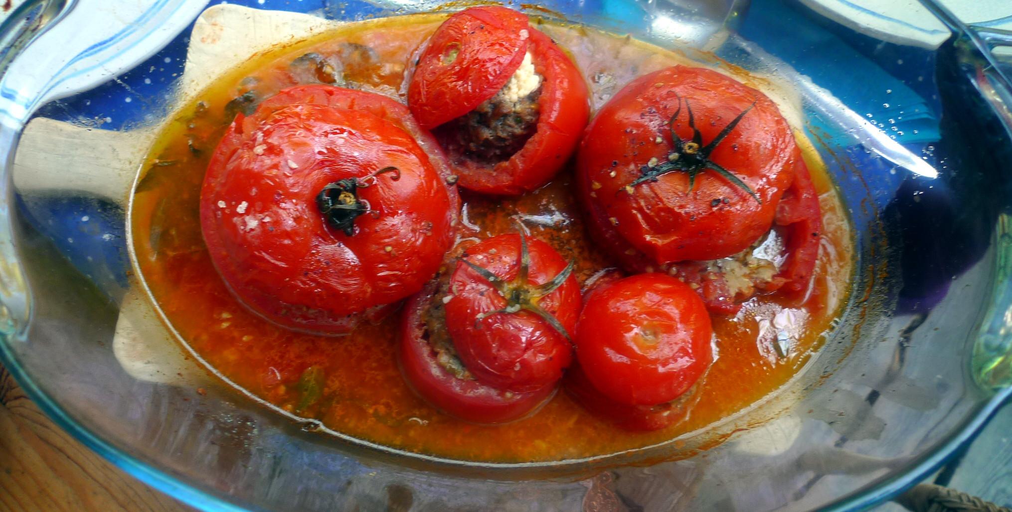 Gefüllte Tomaten - 12.8.15   (5)