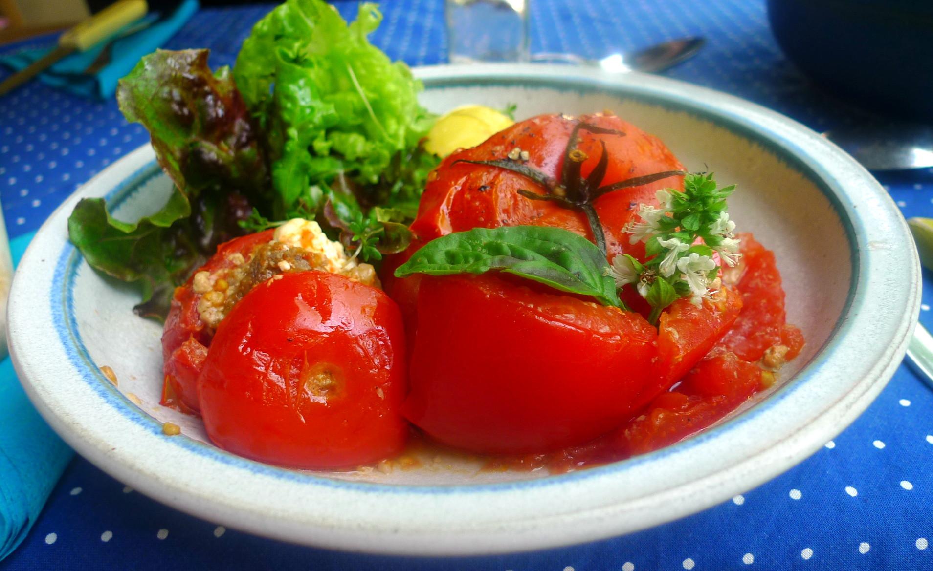 Gefüllte Tomaten - 12.8.15   (7)