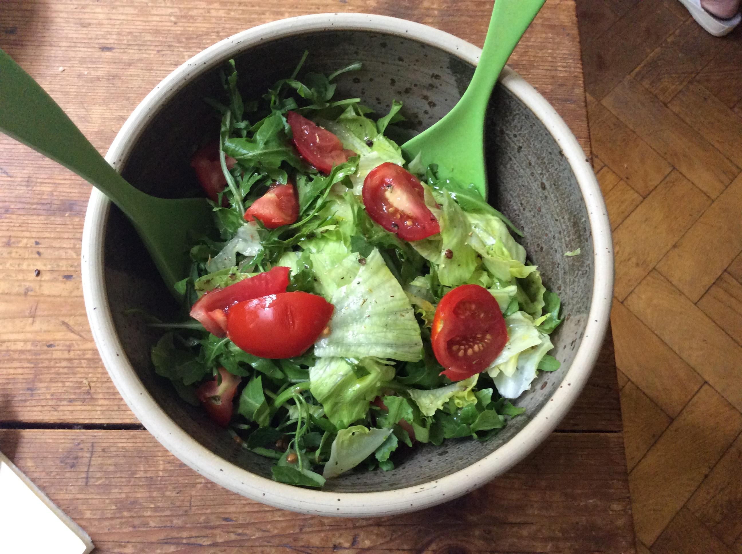 Lachs,Bratkartoffel,Salat. - 28.8.15   (5)