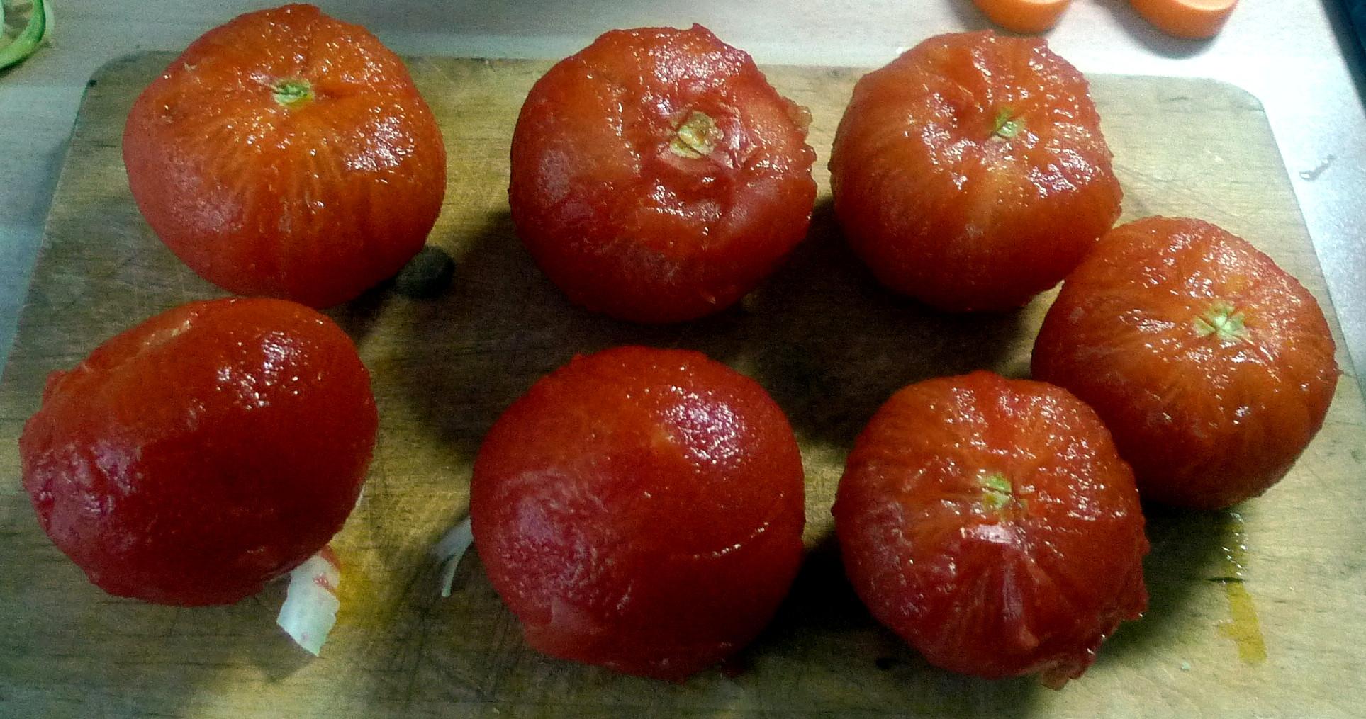 Zucchinispagetthi,Tomatensauce,veganvegetarisch -15.8.15 (4)
