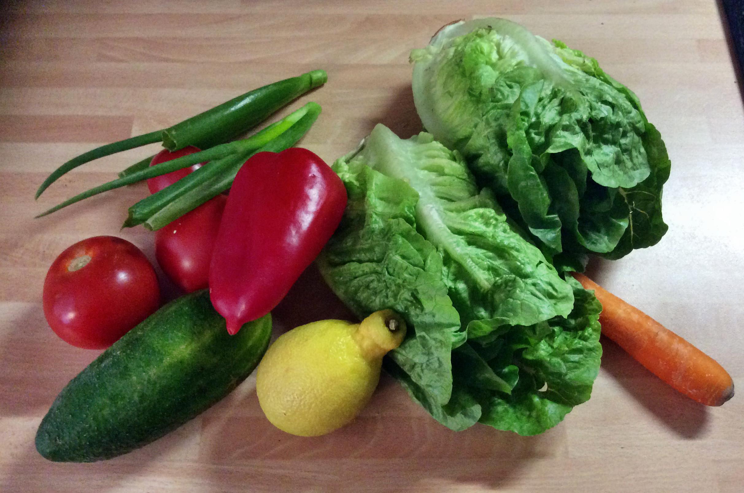 Marinierter Hering,gemischter Salat,Kartoffeln - 7.10.15   (1b)