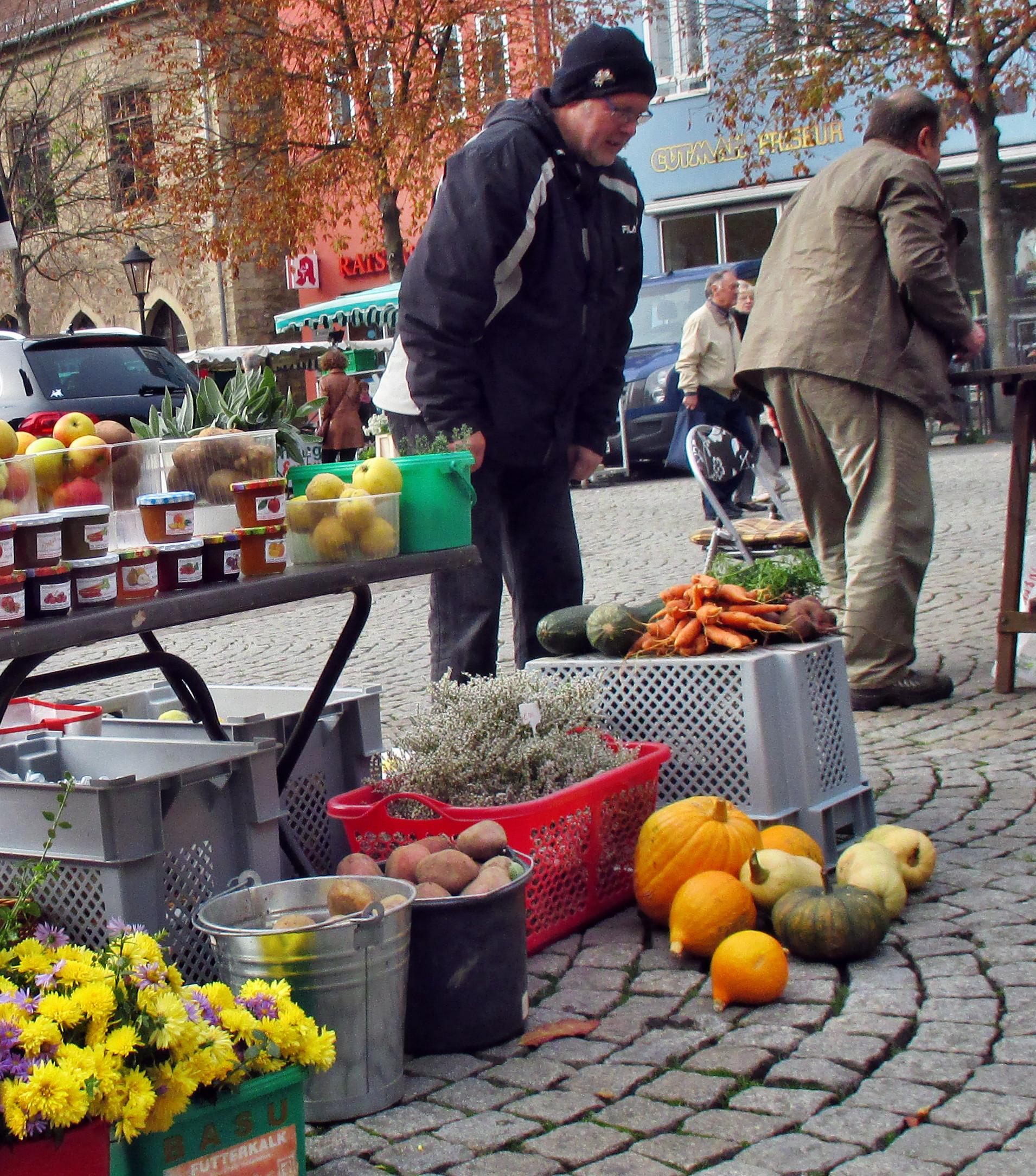 Wochenmarkt Jena -24.10.15   (5)