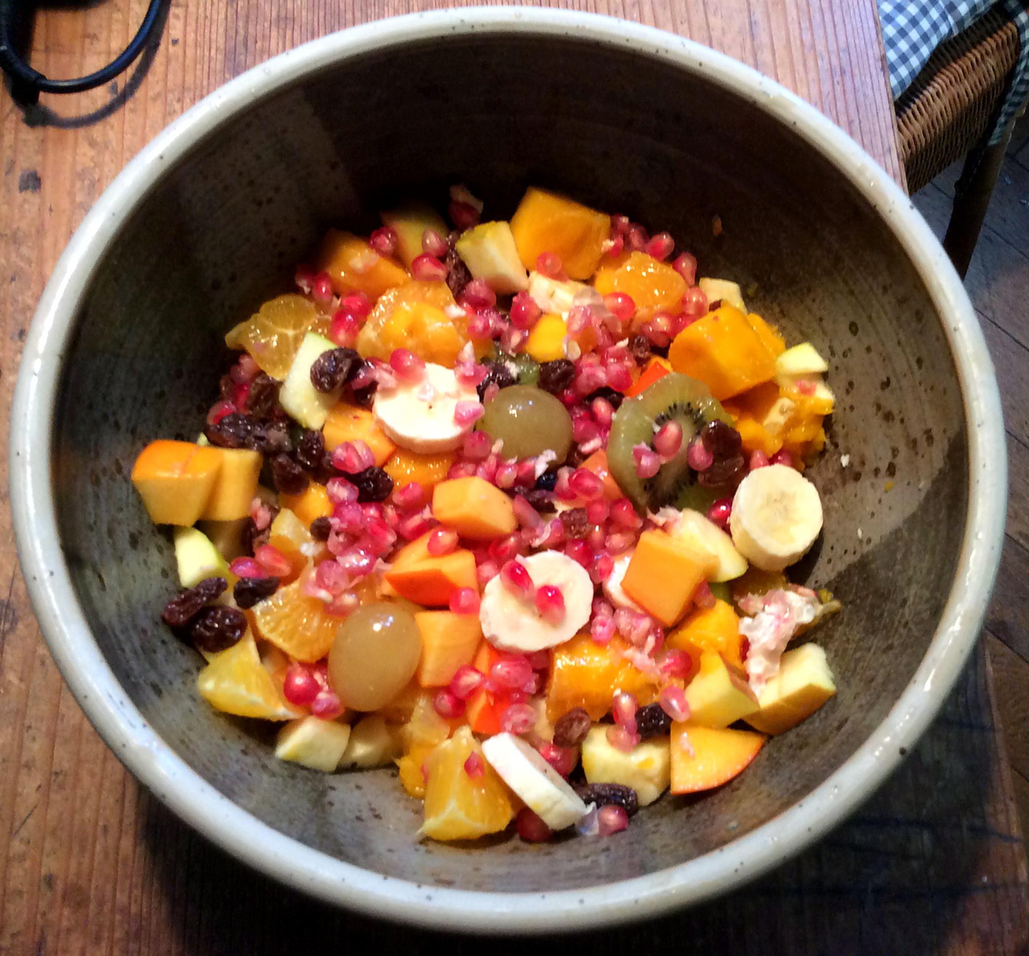 Pfannkuchen ,Pilze,Salat,Obstsalat -21.11.15   (14)