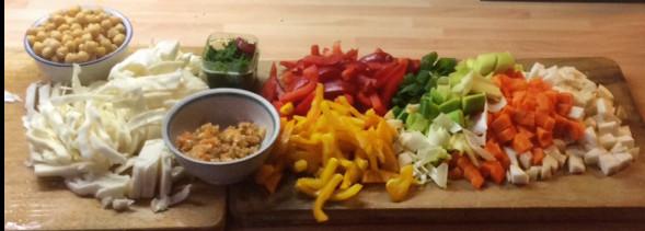 12.3.16 - Kichererbsen-Gemüse Eintopf,Indische Art,vegan (5)