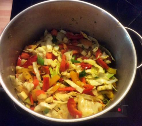12.3.16 - Kichererbsen-Gemüse Eintopf,Indische Art,vegan (9)