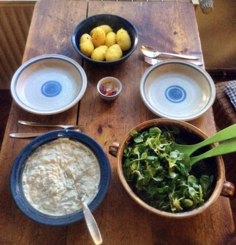 9.3.16 - Quark,Kartoffel,Salat,vegetarisch (1)