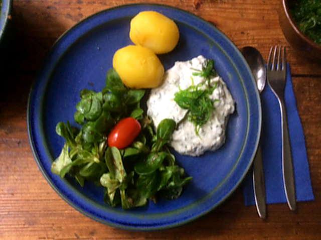 16.4.16 - Quark,Kartoffeln,Feldsalat   (1)