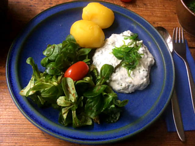16.4.16 - Quark,Kartoffeln,Feldsalat   (4)