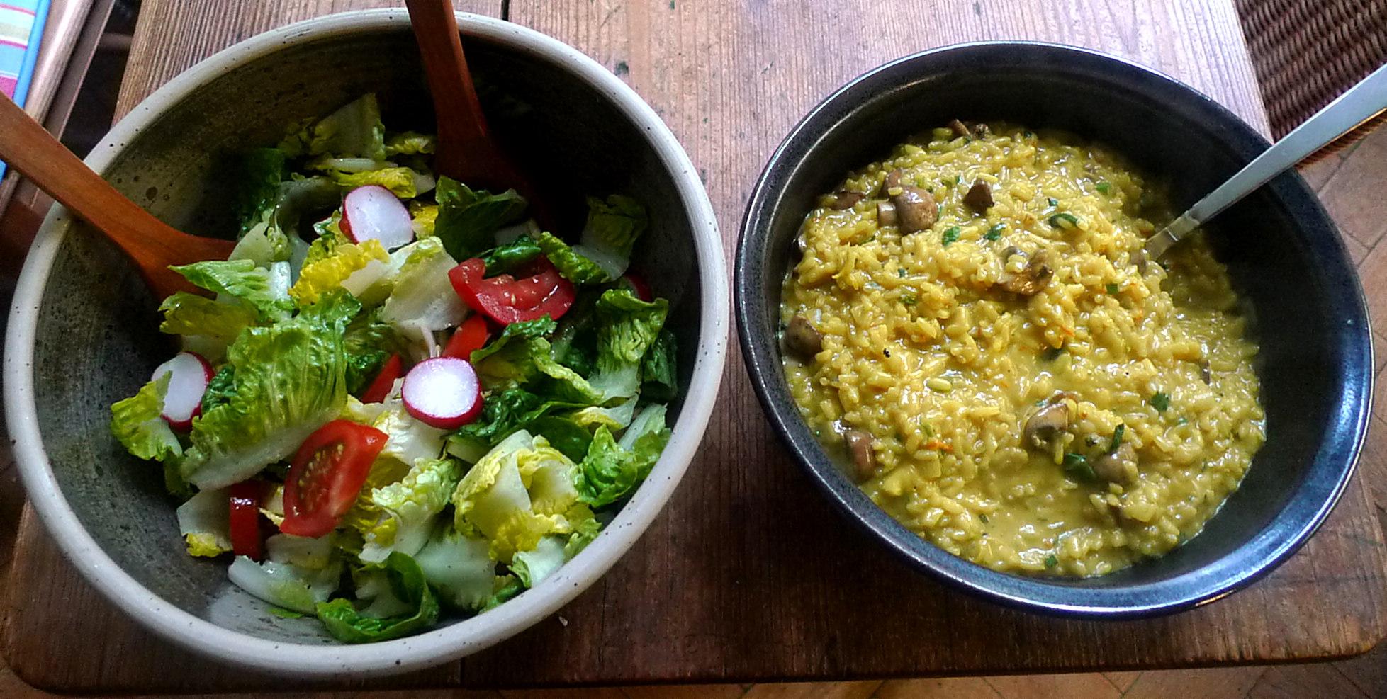 25.5.16 - Pilzrisotto,Dessert,vegetarisch (2)