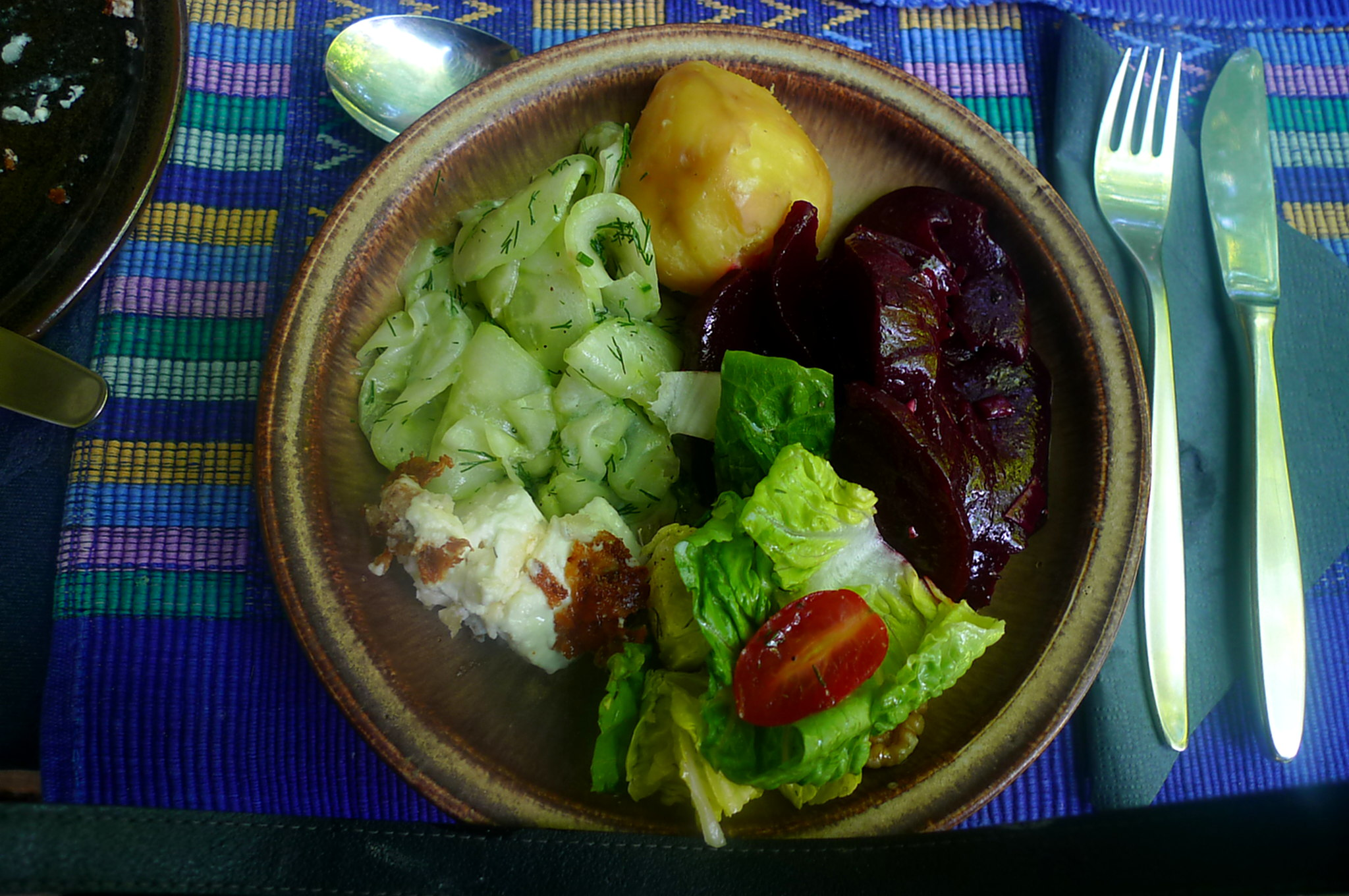 20.6.16 - Salate,Feta,Kartoffeln,Dessert (1).JPG