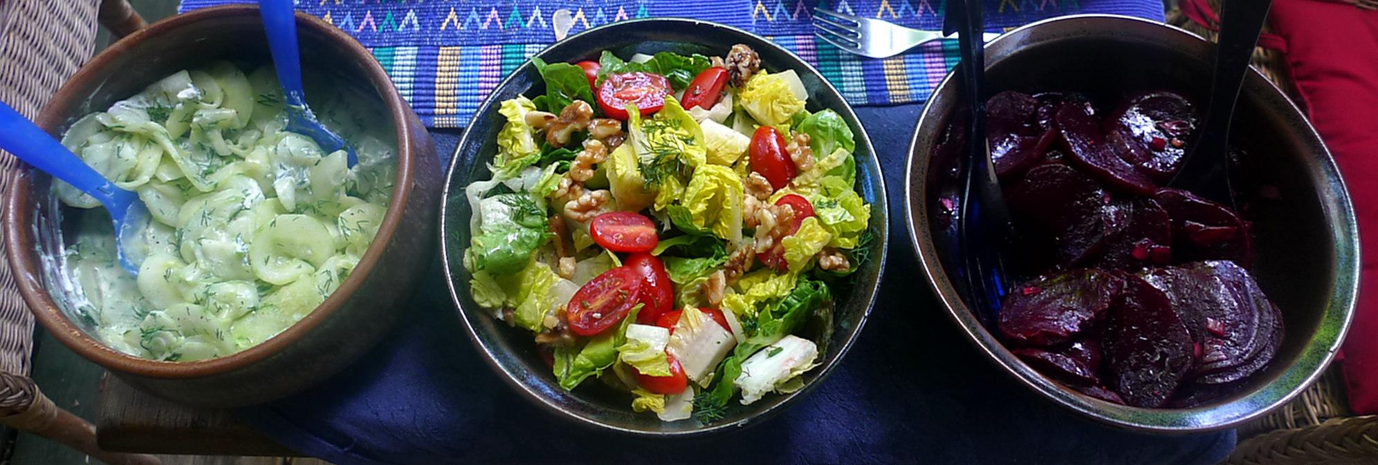 20.6.16 - Salate,Feta,Kartoffeln,Dessert (8)