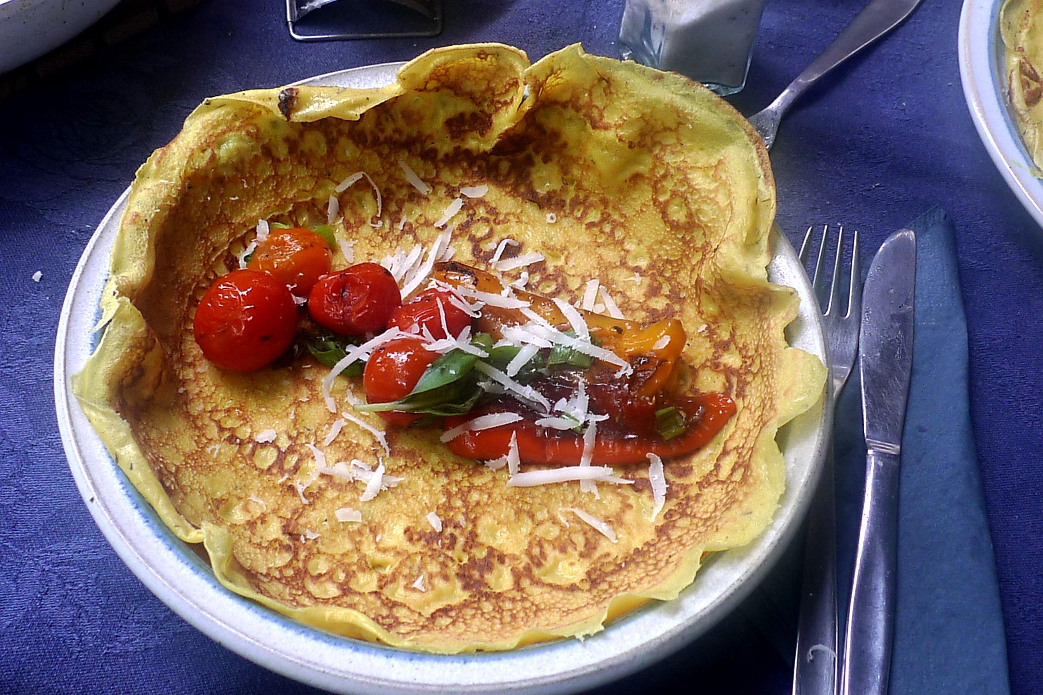 25.6.16 - Caprese,Eierpfannkuchen,mediterran (2)