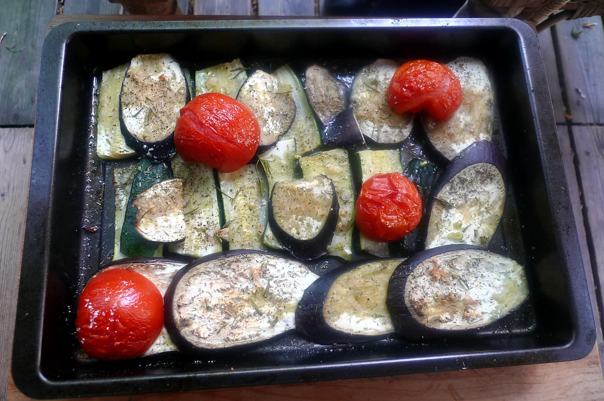 30.6.16 - Ofengemüse,Pimientos,Bratkartoffeln (2)