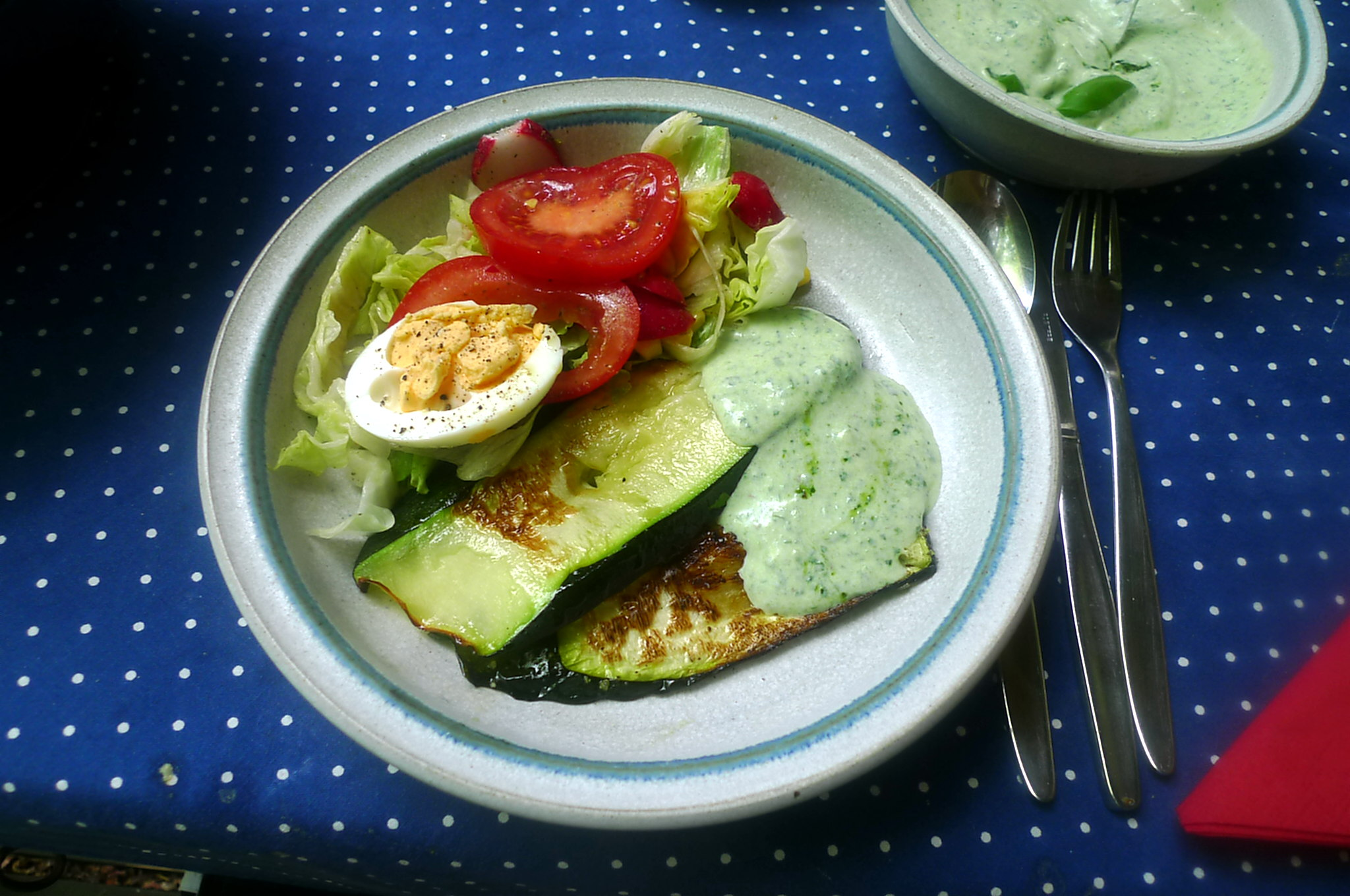 10.7.16 -. Salat,Zucchini,Dip,vegetarisch (1).JPG