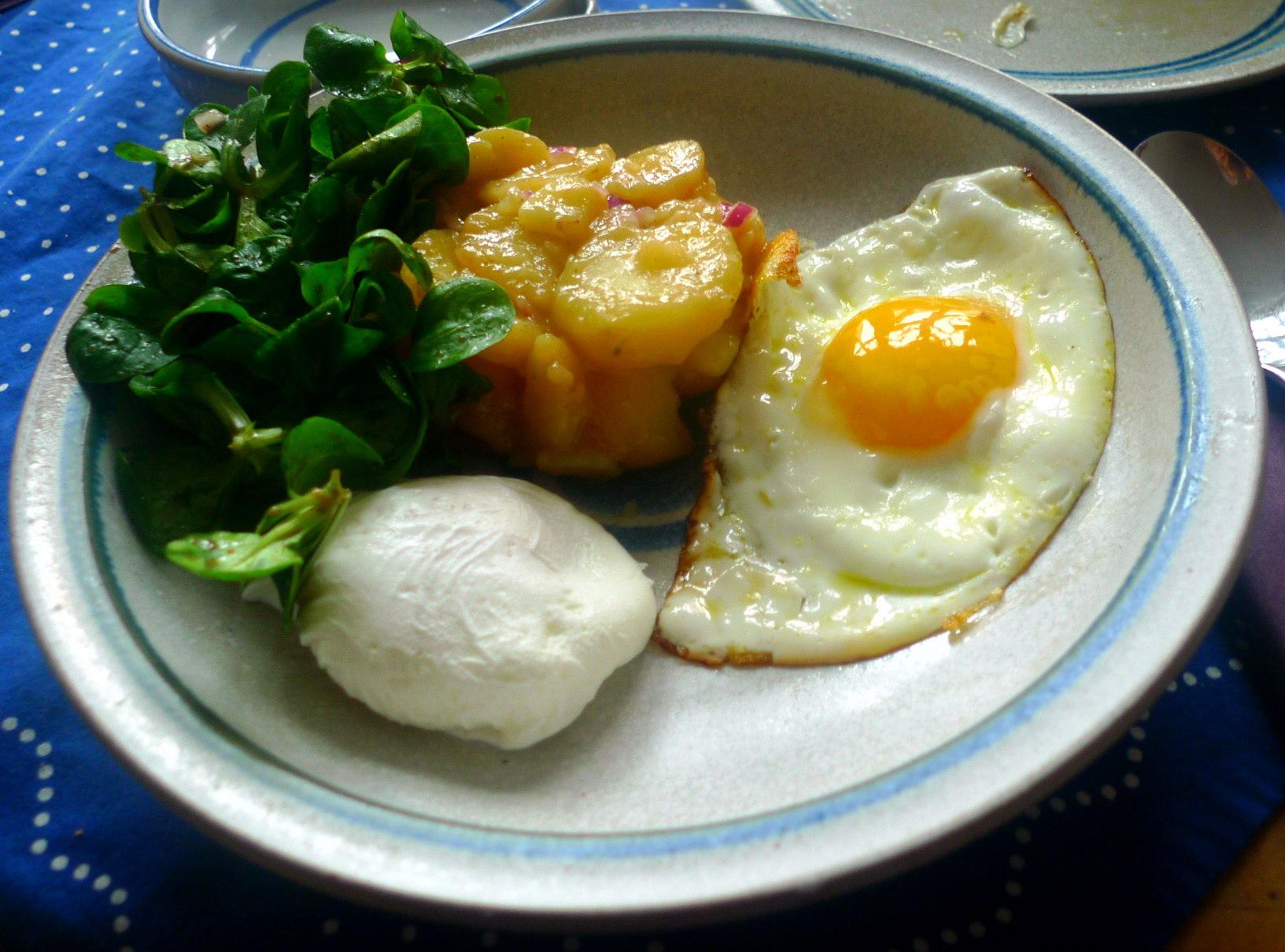 schwabischer-kartoffelsalatfeldsalatpochiertes-eispiegeleivegetarisch-15