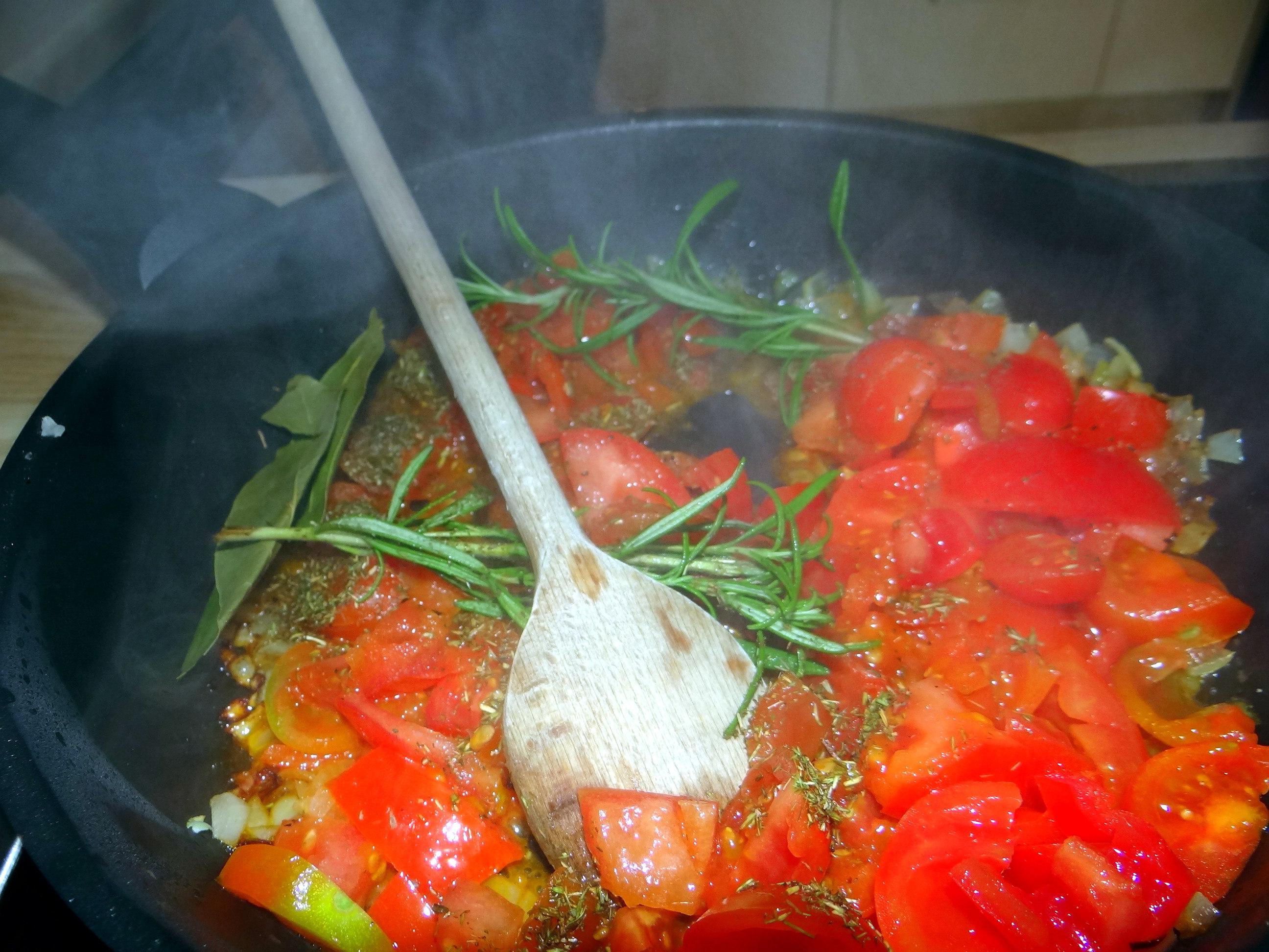 Bohnen in Tomaten (9)