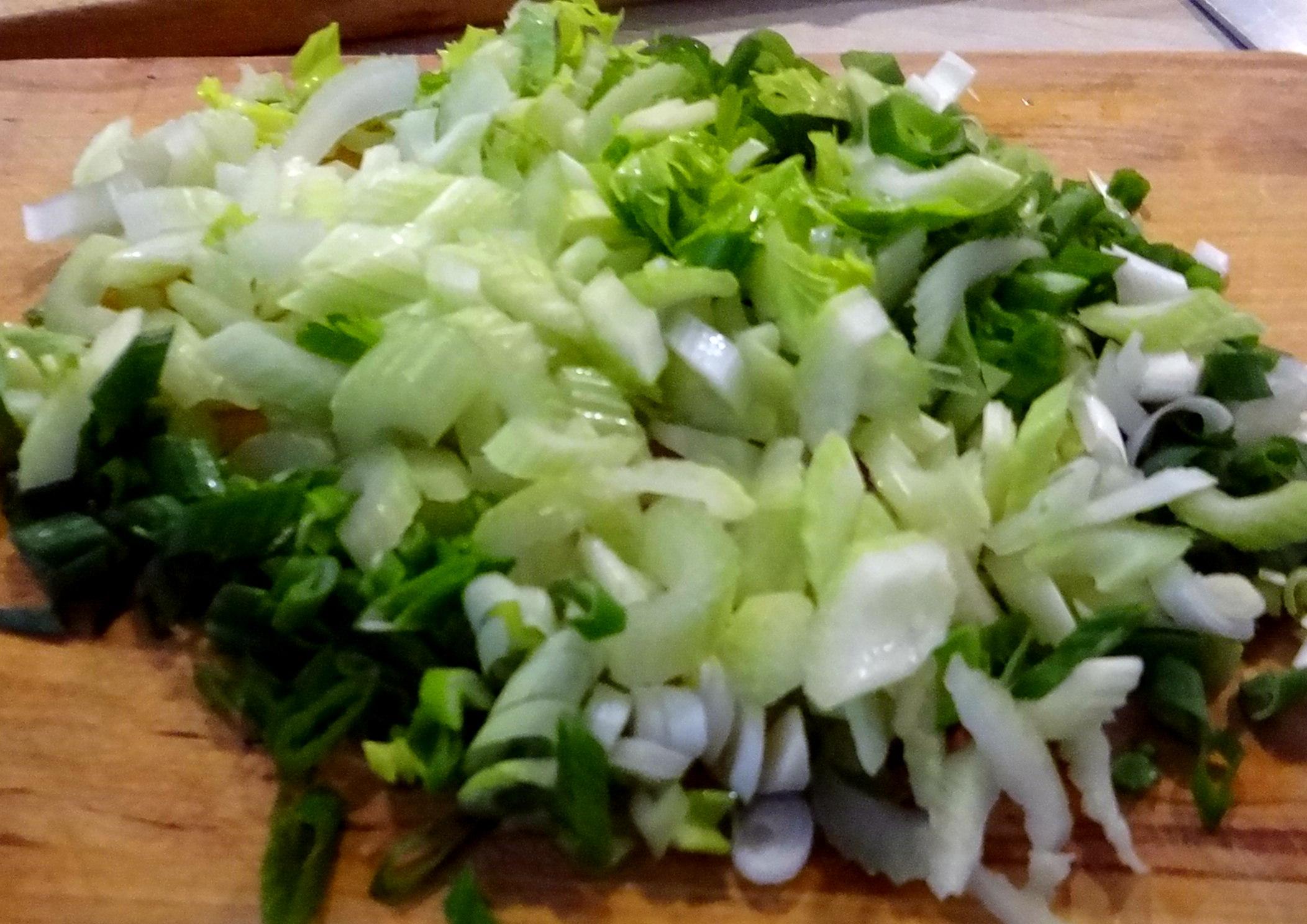 Bohnen,Thunfisch,Sellerie Salat (6)
