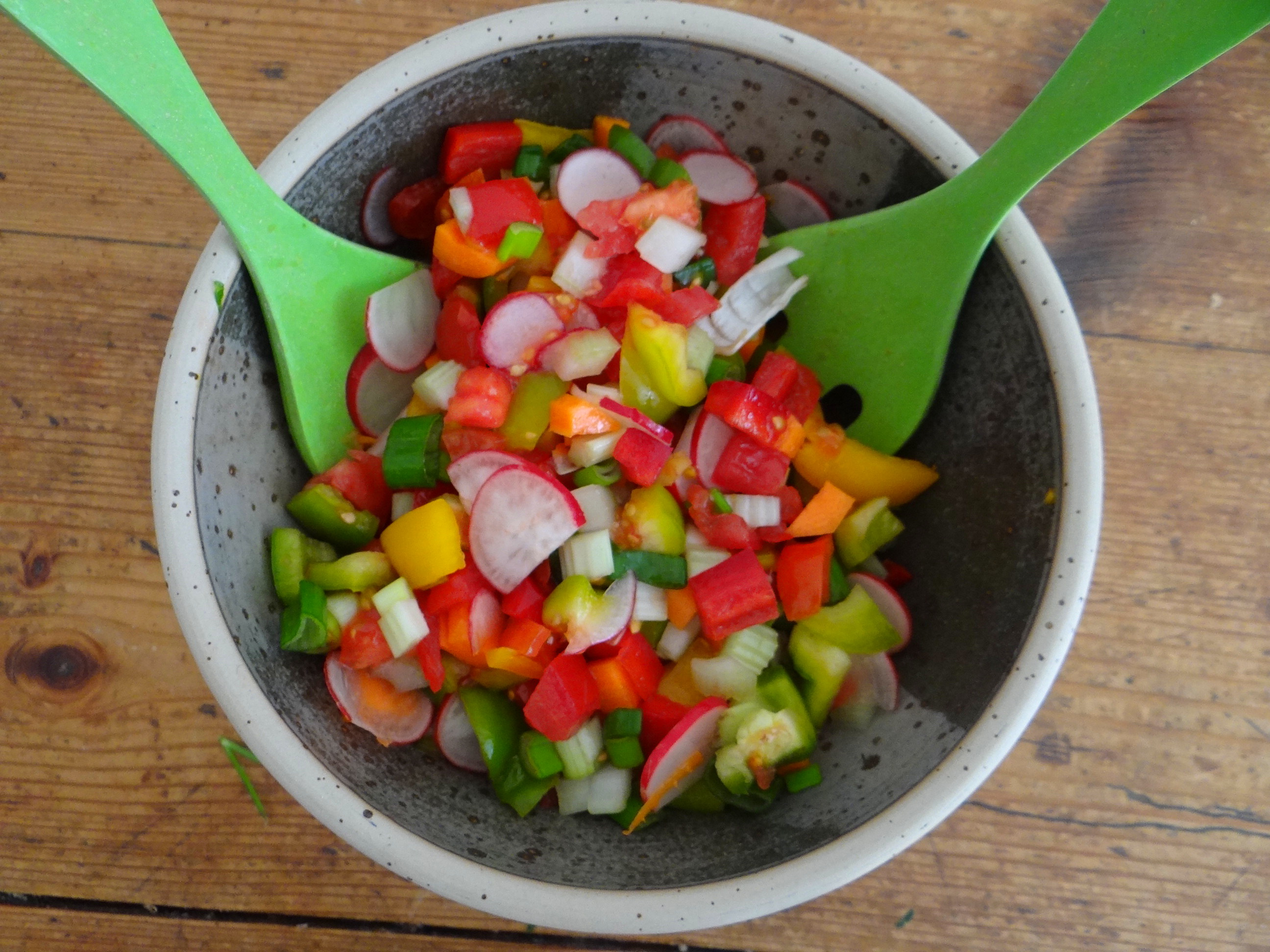 Forelle,Kartoffeln,Salat,Dips (6)