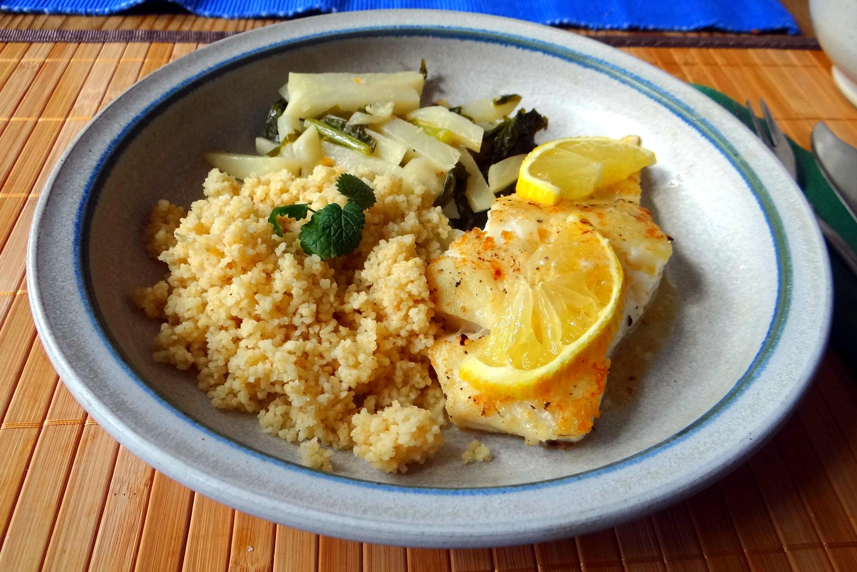 Kabeljau,Mairübchen,Couscous,Mascapone mit Orangensaft,pescetarisch (15)