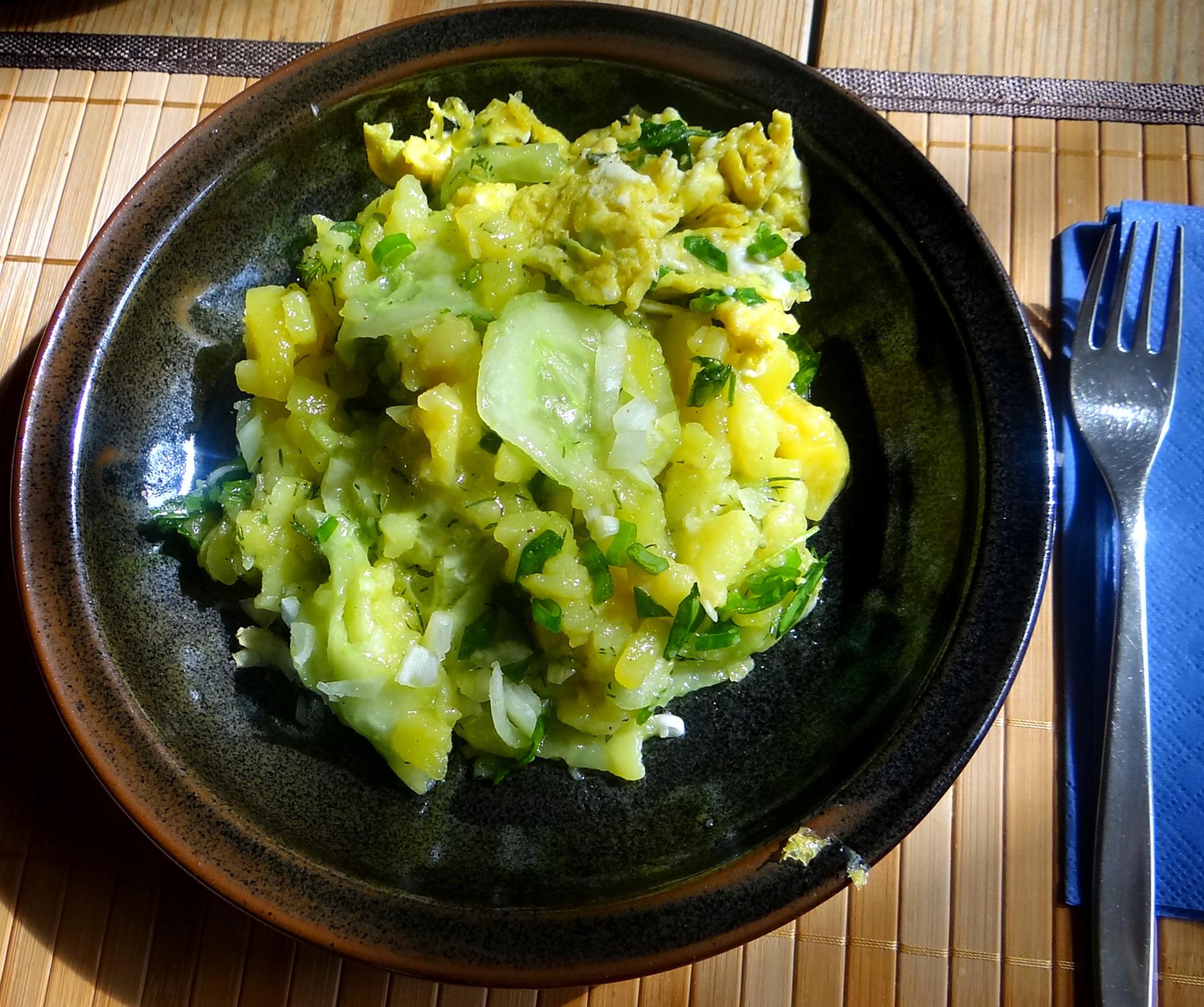 Kartoffelsalat,Rührei (1)