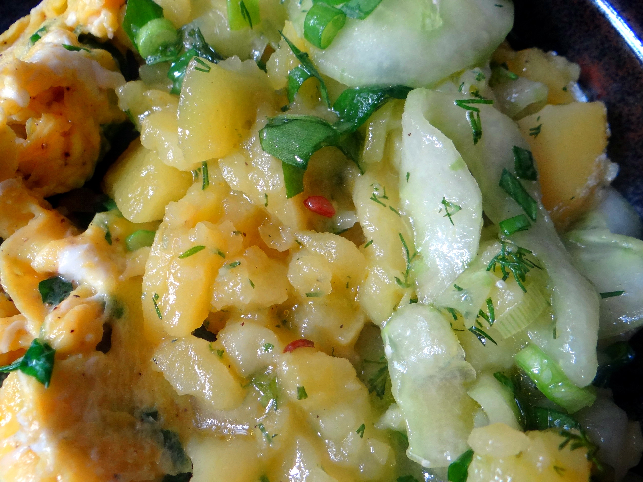 Kartoffelsalat,Rührei (14)