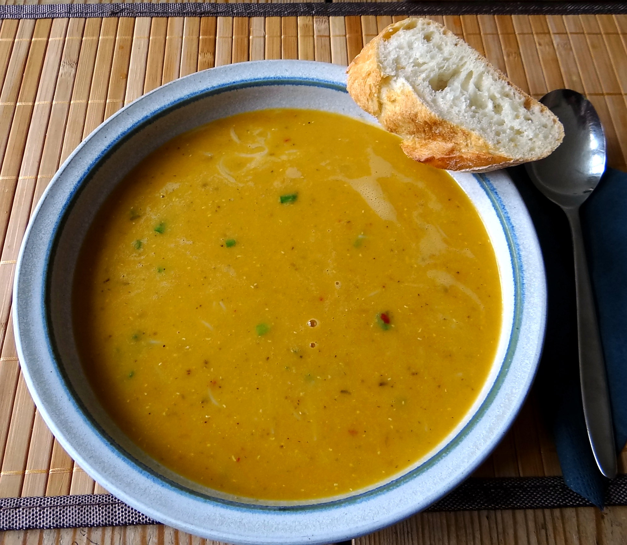 Rote Linsensuppe (1)