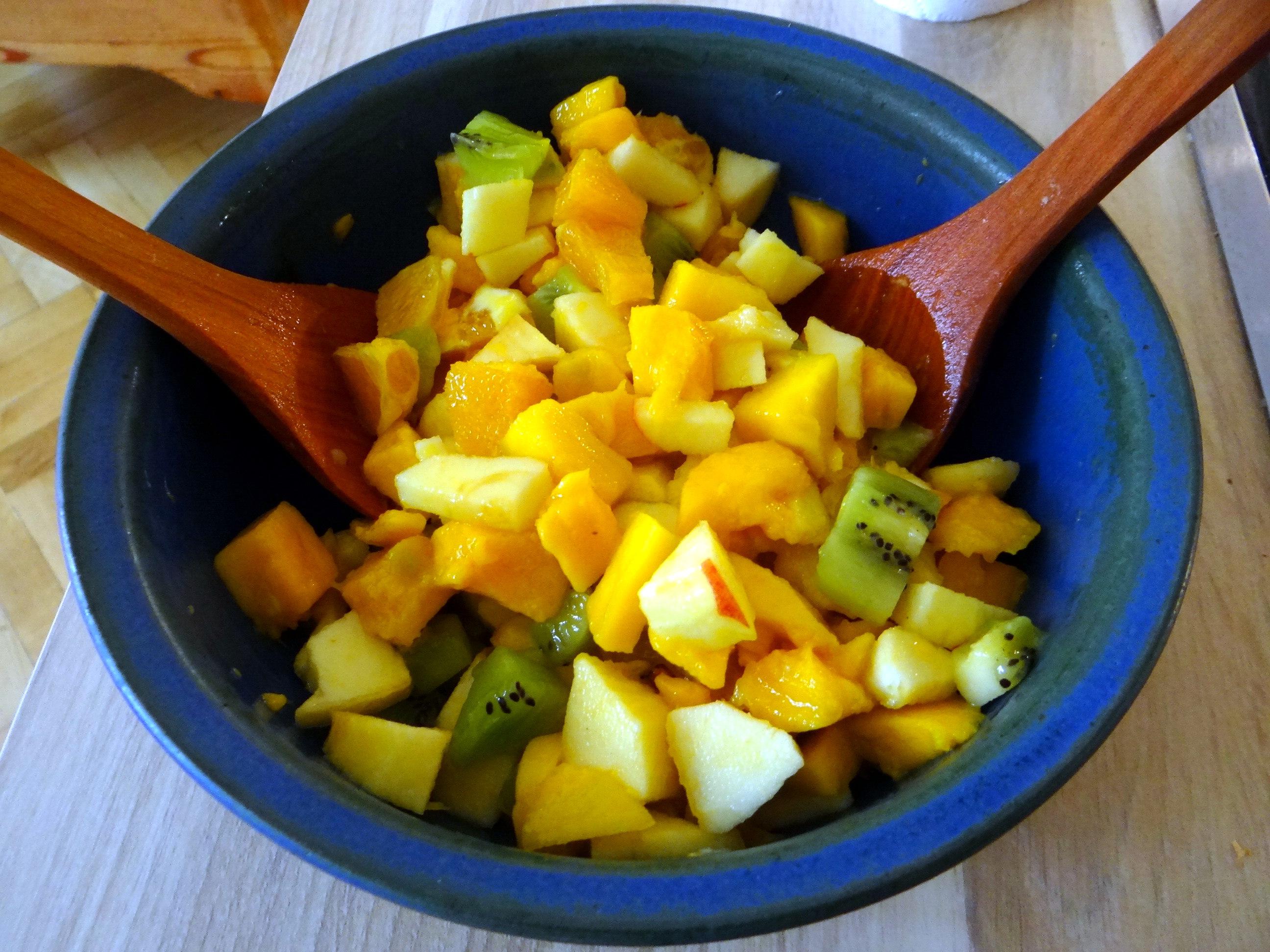 Süßkartoffel Pommes,Salate,Obszsalat (17)