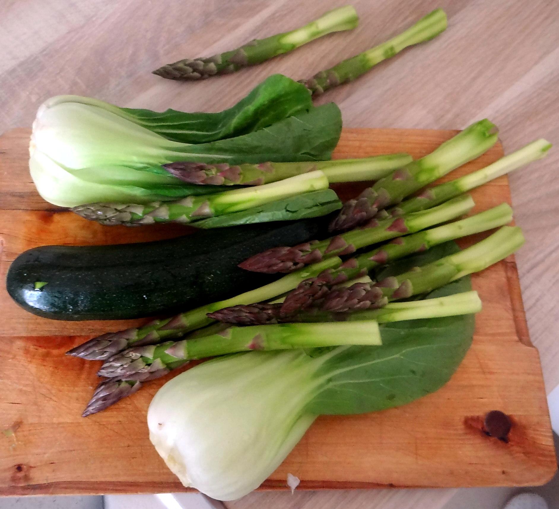 Gemüse Allerlei,Nudel Mix,vegetarisch (8)