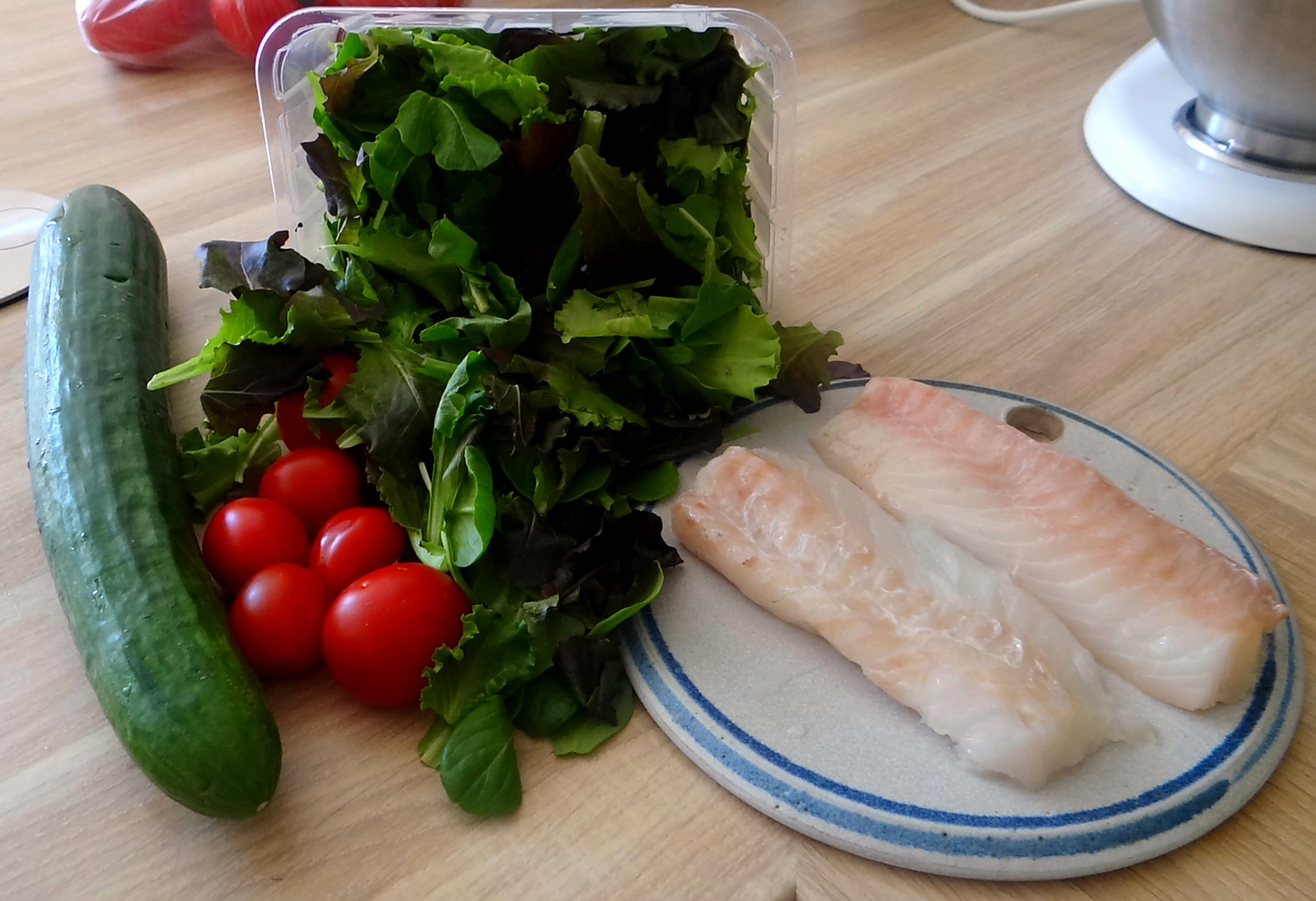 Kabeljau,Salate,Ofenkartoffeln (5)