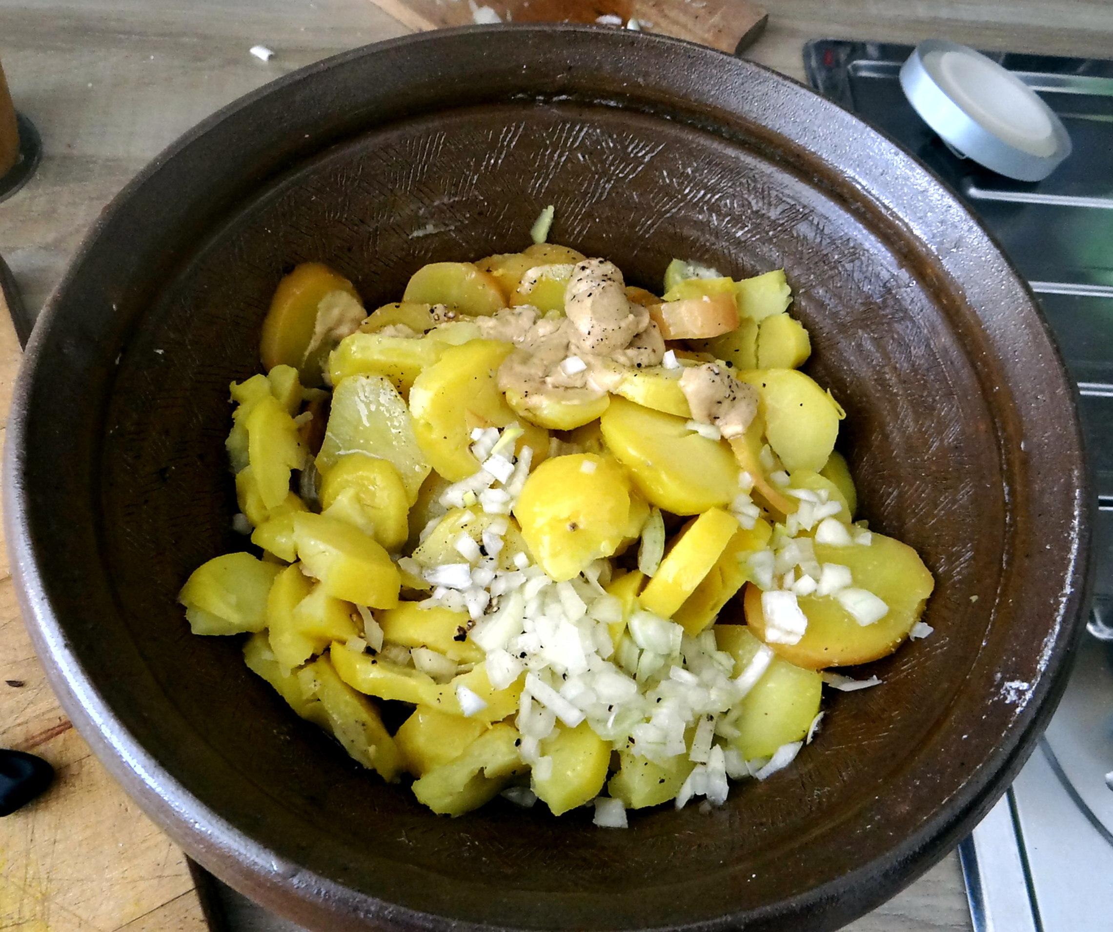 Kabeljau,Schwäbischer Kartoffelsalat (4)