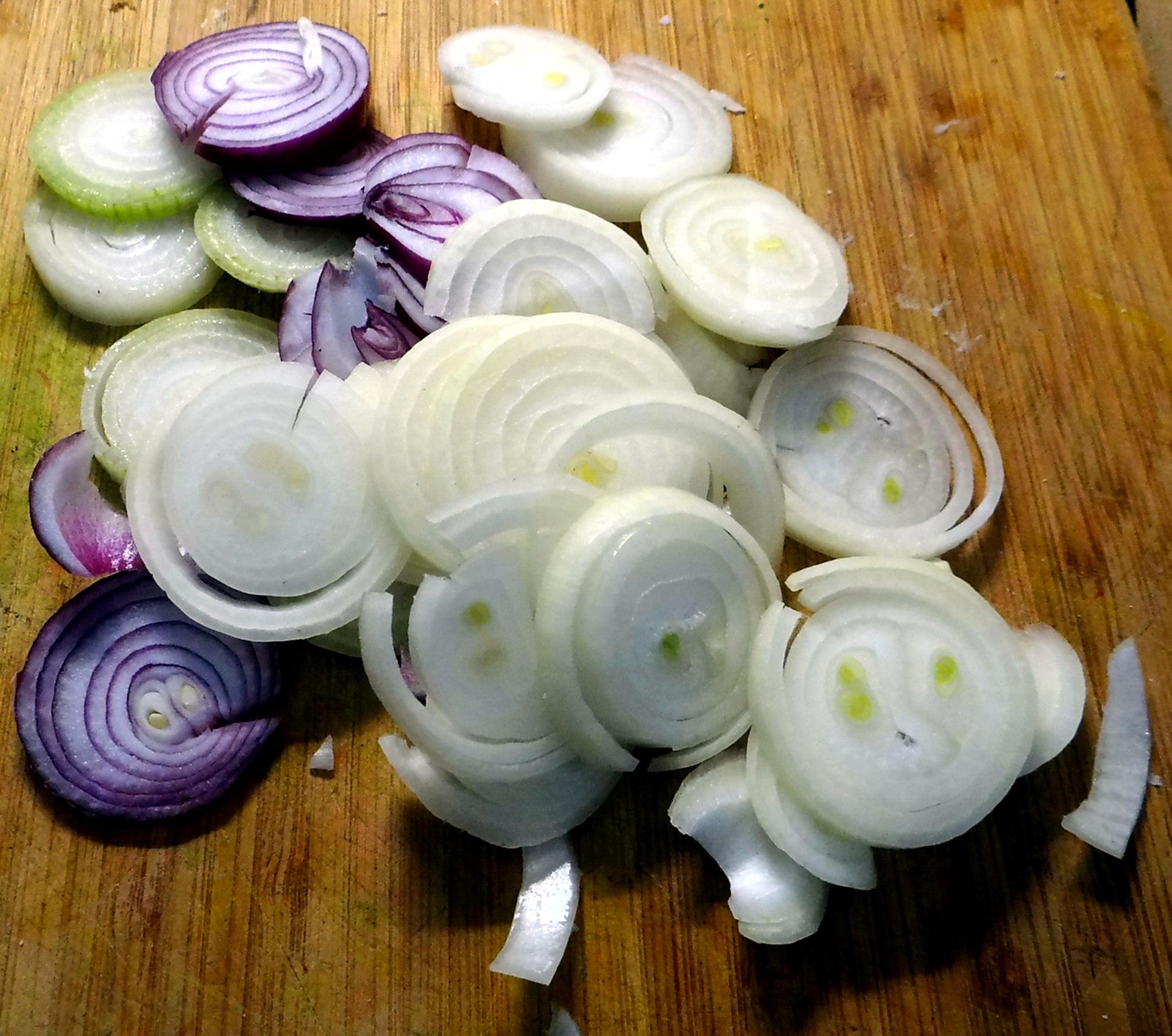 Minestra mit Bleichsellerie un Paprika,Obstsalat,vegetarisch (7)