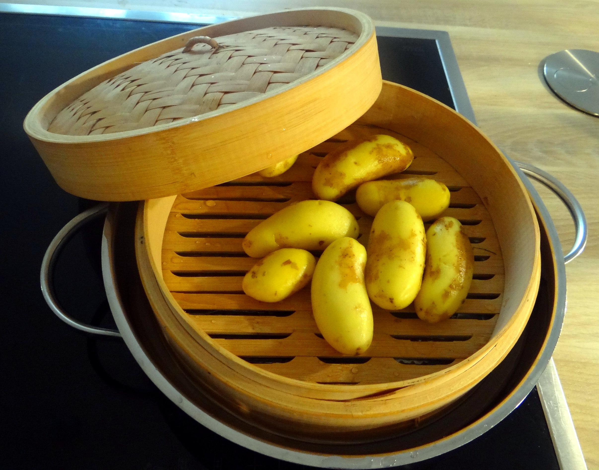 Spargel aus dem Ofen,Pellkartoffeln,Obstsalat (5)