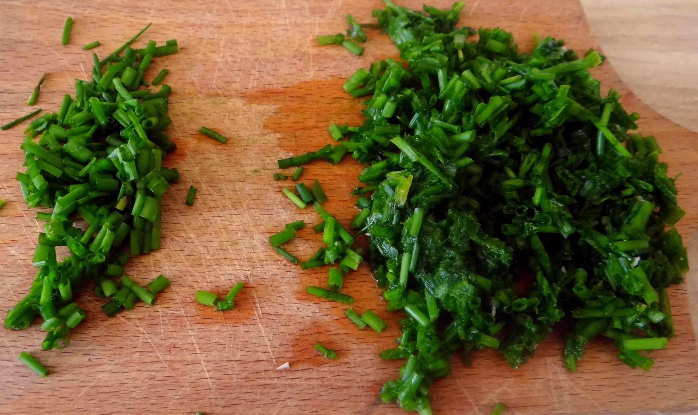 Wildkräuter Salat,Boullion Kartoffeln (20)