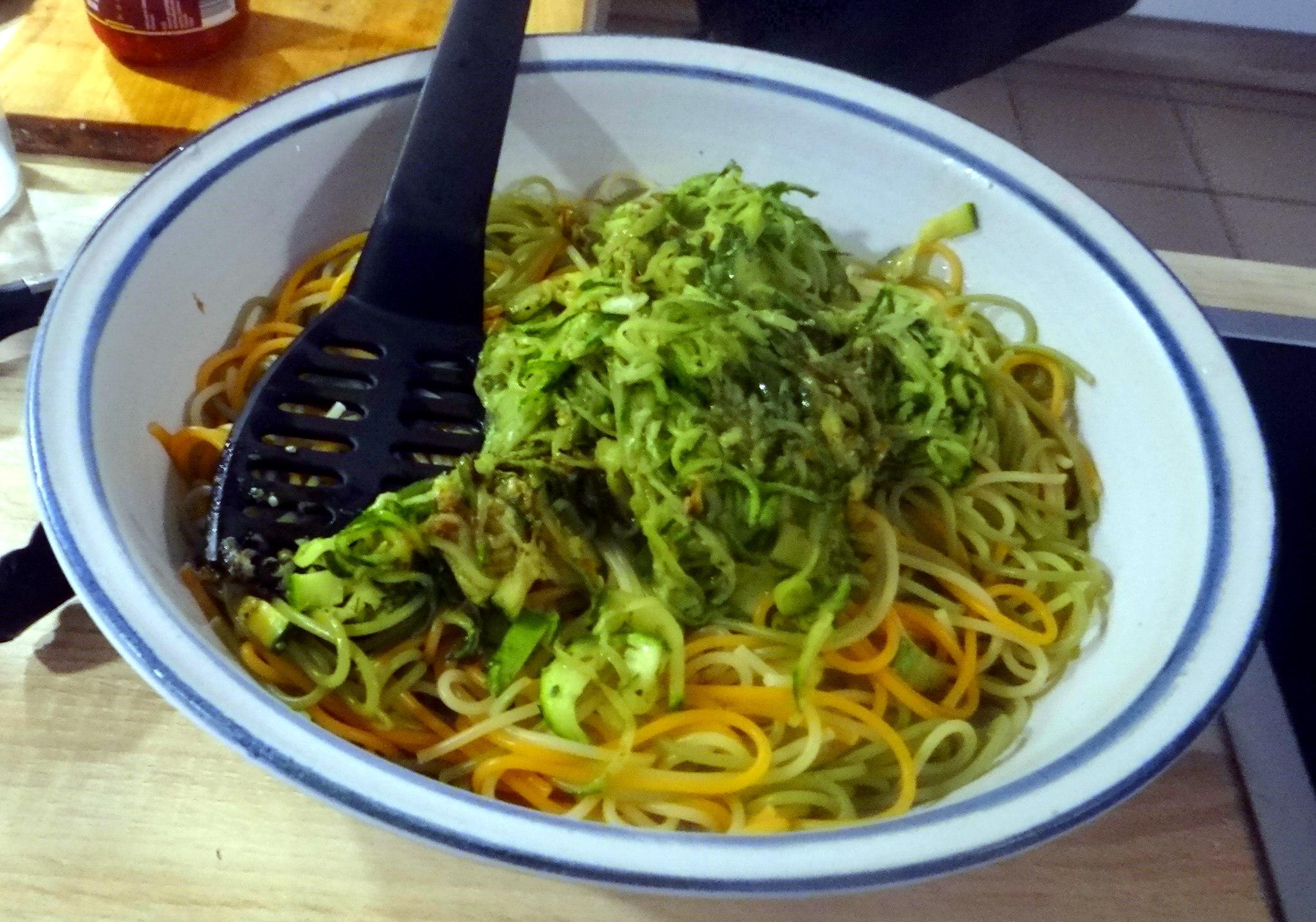 Zucchini Zoodles,Spaghetti,Tomatensauce (14)