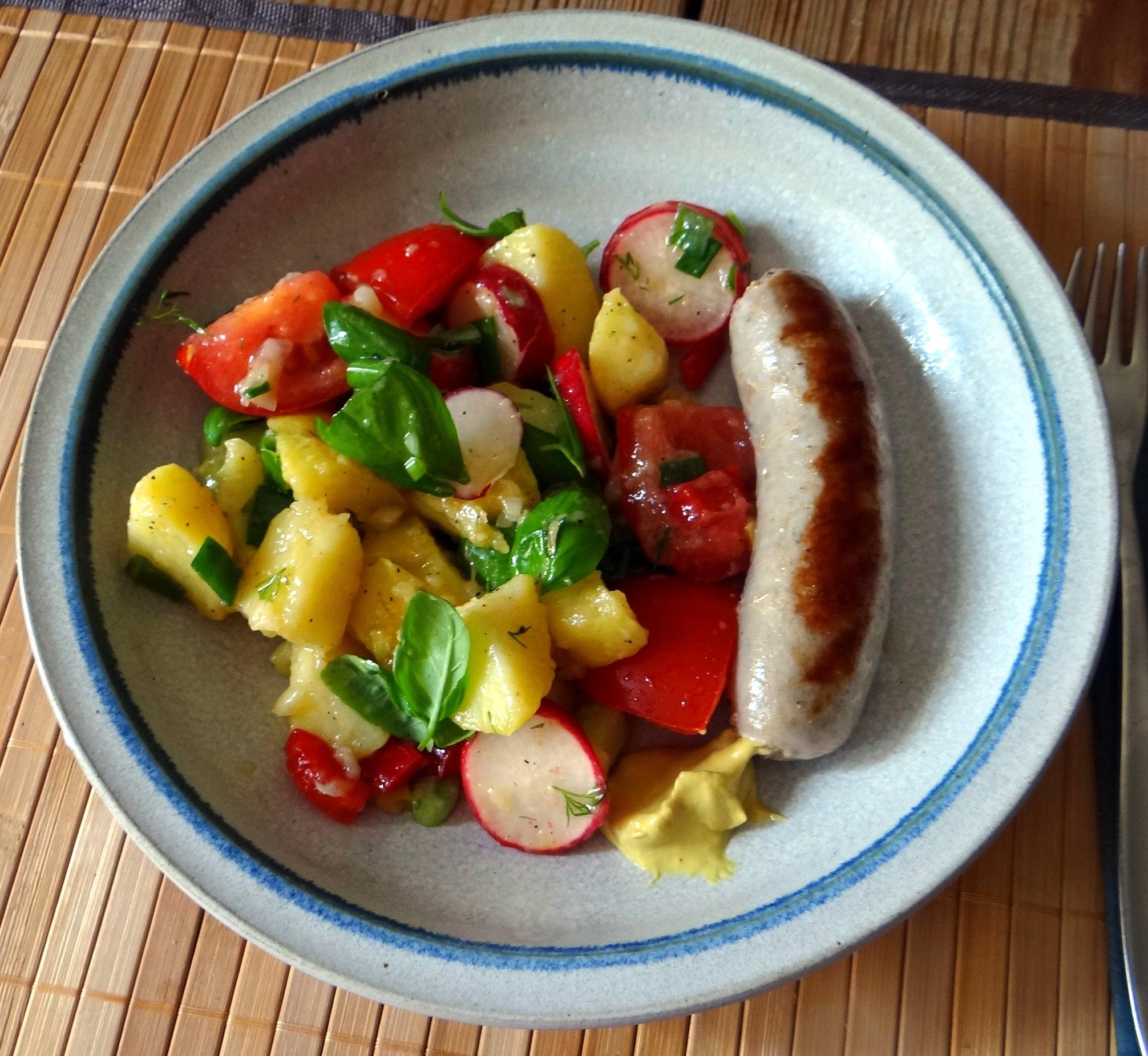 Mediterraner Kartoffelsalat,Bratwurst (20)