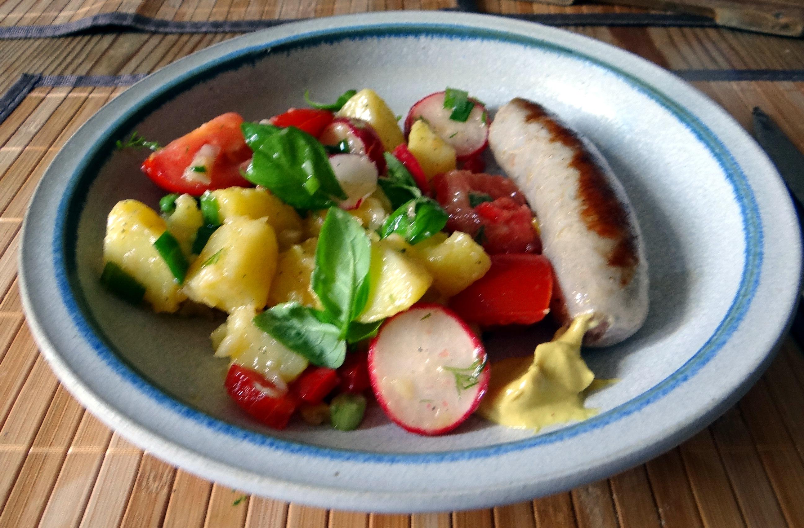 Mediterraner Kartoffelsalat,Bratwurst (21)